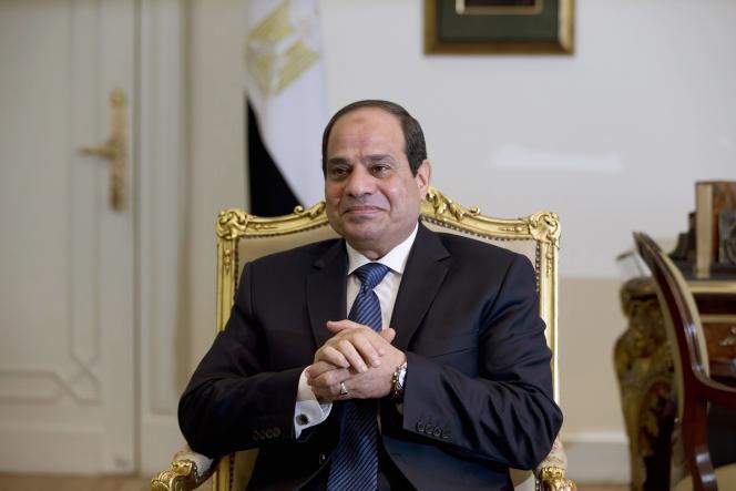 Le président égyptien Abdel Fattah Al-Sissi, au Caire, en octobre 2014.