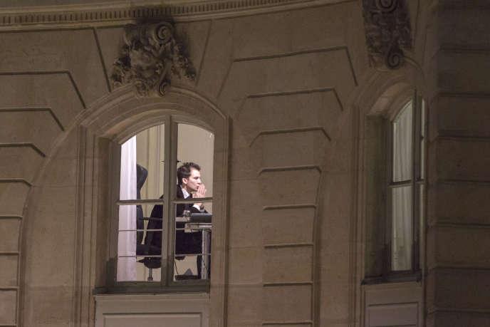 Gaspard Gantzer, conseiller de la communication du cabinet du président de la République, dans son bureau du Palais de l'Elysée, le 9 janvier.