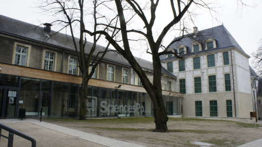 Le campus de Sciences Po, à Reims.
