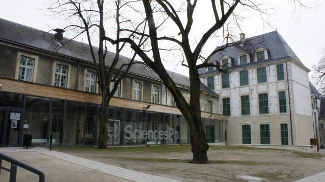 Le campus de Sciences Po, à Reims.