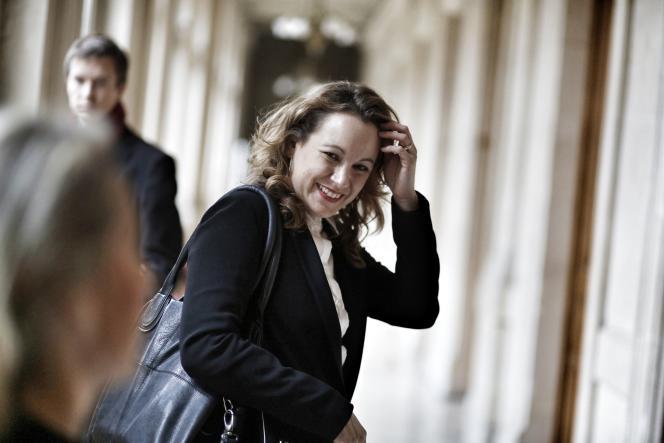 Axelle Lemaire, secrétaire d'Etat au numérique, en décembre 2014 à Paris
