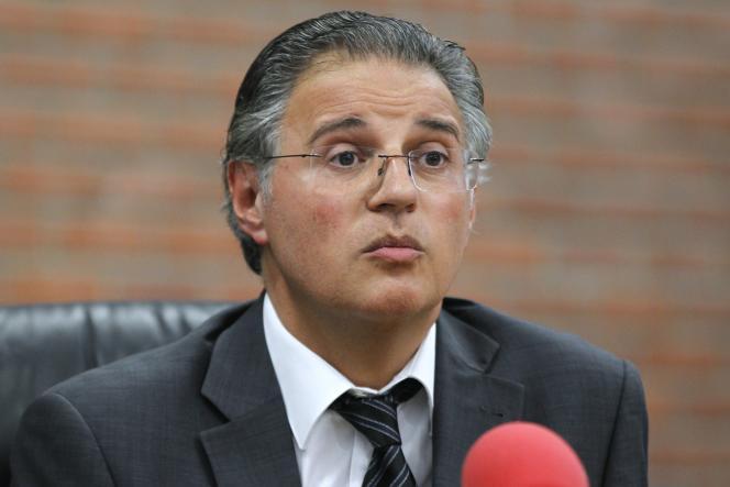 Le directeur de la police judiciaire parisienne, Bernard Petit, en juin 2012.