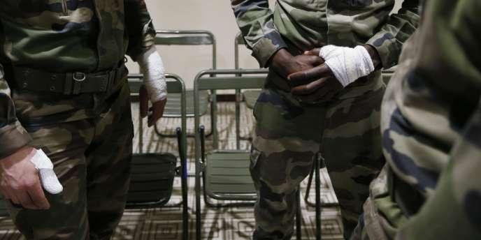 Trois militaires ont été agressés et légèrement blessés, mardi 3 février, à Nice.