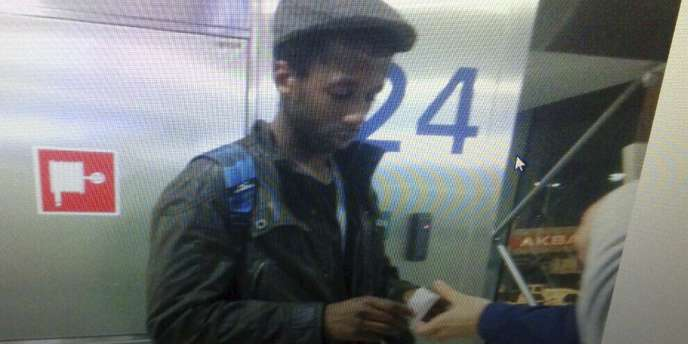 Moussa Coulibaly, à l'aéroport d'Istanbul, le 29janvier.