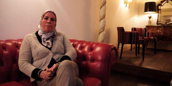 Latifa Ibn Ziaten à Toulouse, le 31 janvier 2015.