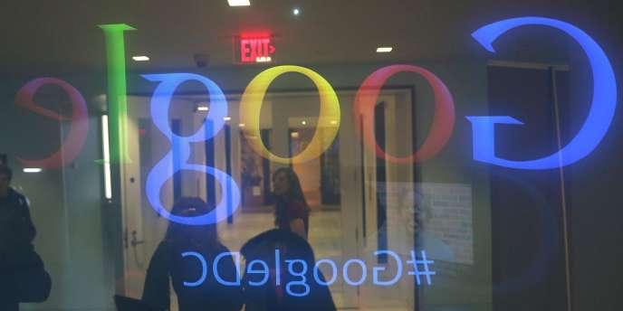 Les locaux de Google à Washington.