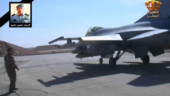 A la télévision jordanienne, le 5 février après la mort du pilote.