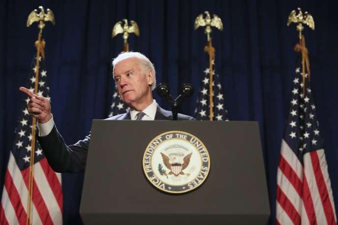 Joe Biden, vice-président des Etats-Unis, le 30 janvier 2015.