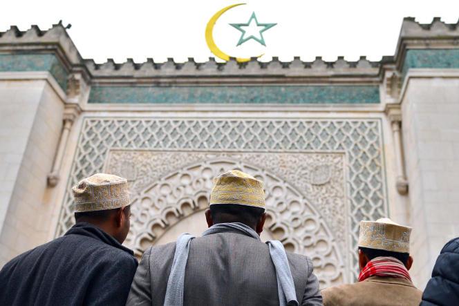 Le concept de djihad, idéologisé, prescrit de combattre la corruption et l'injustice dans le but de préserver et/ou d'instaurer des lois religieuses. Cette conception justifie, dans les cas les plus extrêmes, le djihadisme ou le terrorisme (Devant la grande mosquée de paris, en 2012).