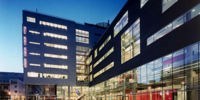 Le pavillon de Sève de l'Université du Québec à Montréal