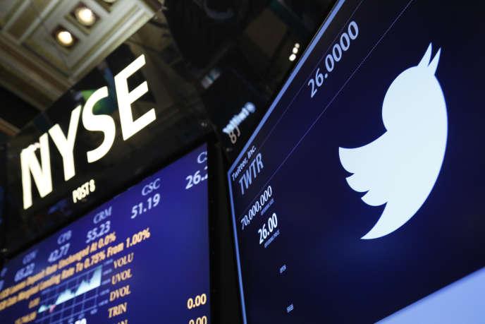 Depuis son introduction au New York Stock Exchange fin 2013, l'action Twitter a perdu plus de 38 %.