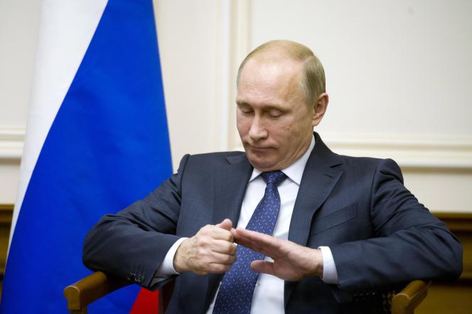 Le président russe Vladimir Poutine, le 6 décembre 2014 à Moscou.