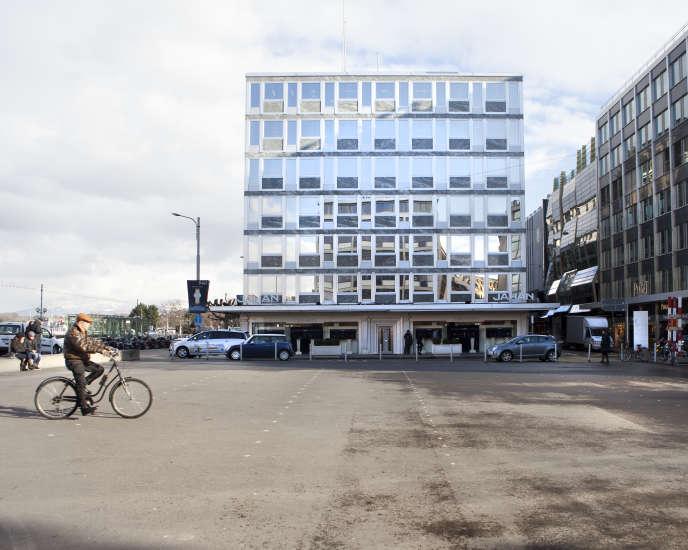 L'ancien siège de HSBC, à Genève.