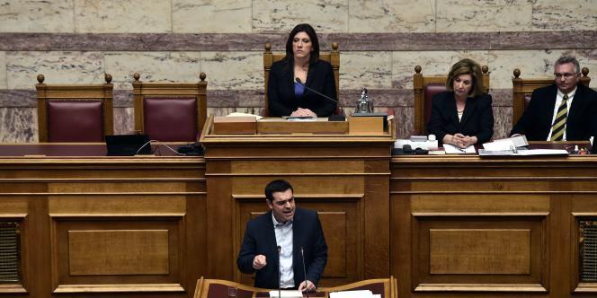 Lors de son discours devant le Parlement, Alexis Tsipras est revenu sur cette épineuse question à laquelle l'Allemagne a déjà opposé une fin de non-recevoir.