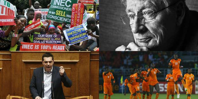 Mort de l'écrivain André Brink, les élections reportées au Nigeria, la Côte d'Ivoire championne d'Afrique.... Petite séance de rattrapage avec les informations à retenir de ces deux derniers jours.