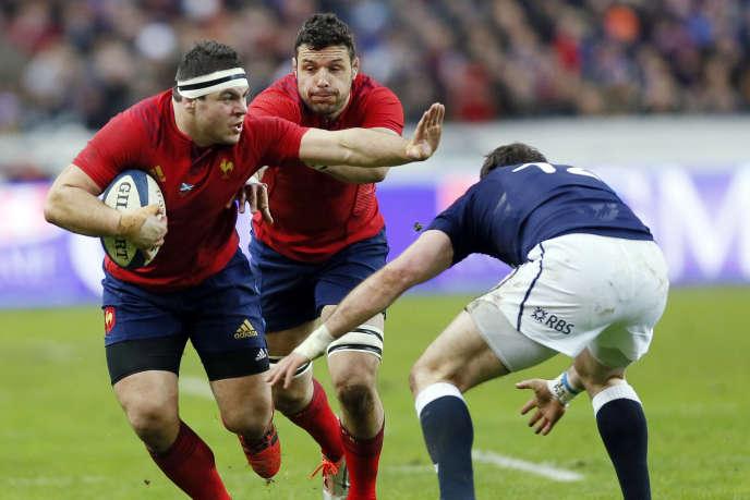 Le XV de France a affronté l'Ecosse en ouverture du tournoi des six nations, samedi 7 février.