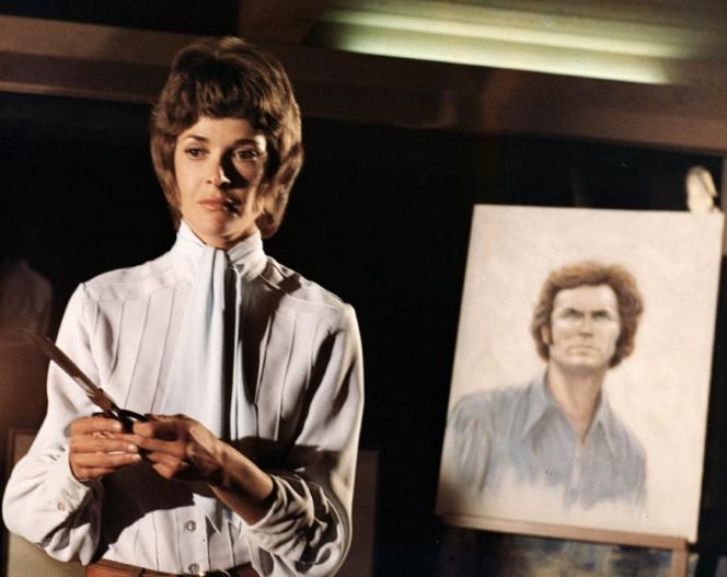 Jessica Walter dans le film américain de Clint Eastwood,