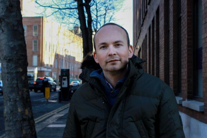 Paul Murphy, 31 ans, chef de file et député de l'Alliance anti-austérité