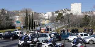 Opération de police à la Castellane en 2015.