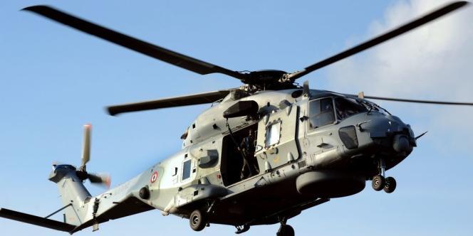Un hélicoptère NH90.