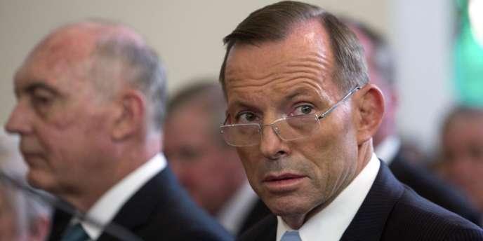 Le premier ministre australien, Tony Abbott, le 9 février.