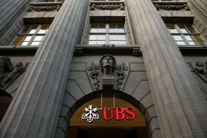 Siège de la banque suisse UBS, à Zurich.
