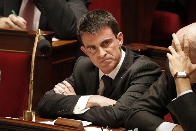Manuel Valls, le 10 février 2015.