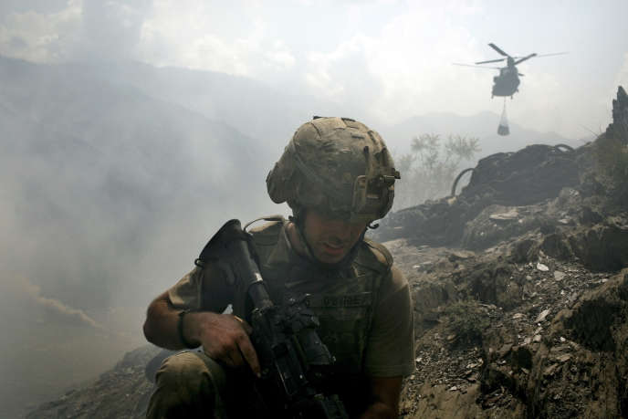 « Fin de mission », recueil de nouvelles d'un jeune Américain vétéran d'Irak, traduit au plus juste l'expérience du front. Colum McCann salue ici l'exploit (photo: soldat américain en Afghanistan, 2007).