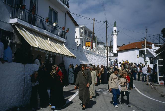 Kotili, village deThrace, enGrèce, en2004.