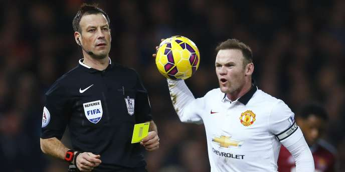 L'attaquant de Manchester United Wayne Rooney, le 8 février.