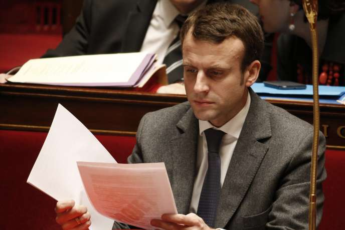 Le ministre de l'économie Emmanuel Macron le 10 février.