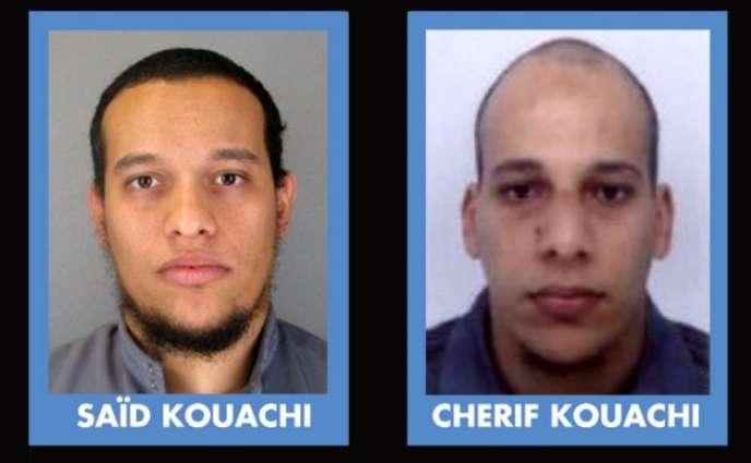 Photos d'identité de Saïd et Chérif Kouachi