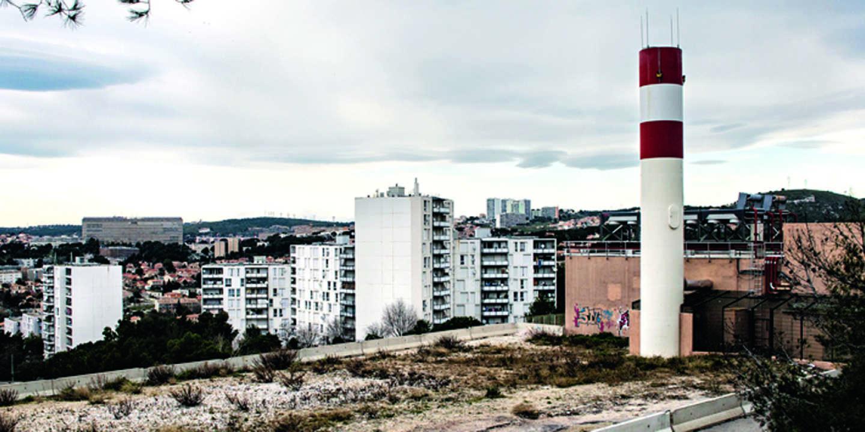 Une vue de la Savine, cité des quartiers nord où habitait Ibrahim Ali.