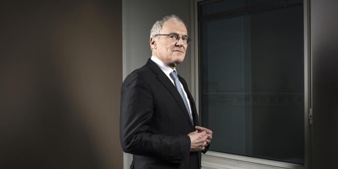 Jean-Bernard Lévy, le PDG d'EDF le 10 février au siège du groupe.