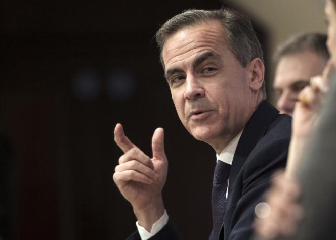 Mark Carney, gouverneur de la Banque d'Angleterre, à Londres, le 12 février.