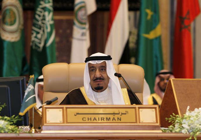 Le roi d'Arabie Saoudite Abdallah Ben Abdel Aziz Al-Saoud en janvier 2013.