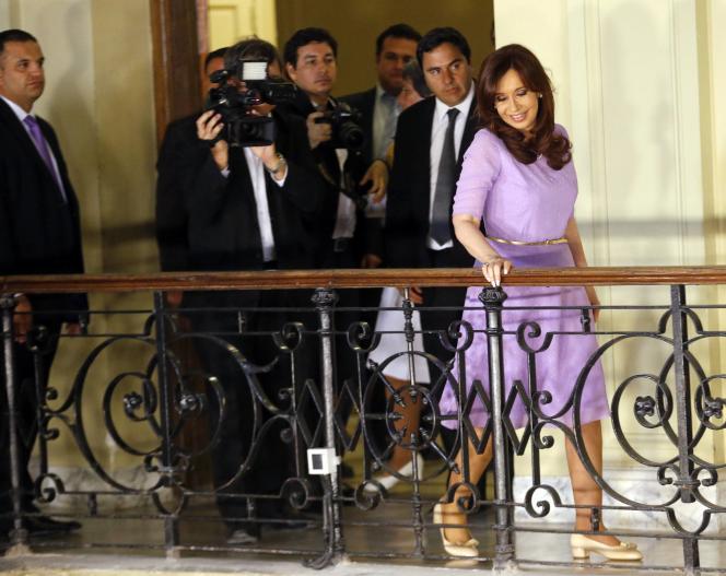 Cristina Kirchner, le 11 février à Buenos Aires.