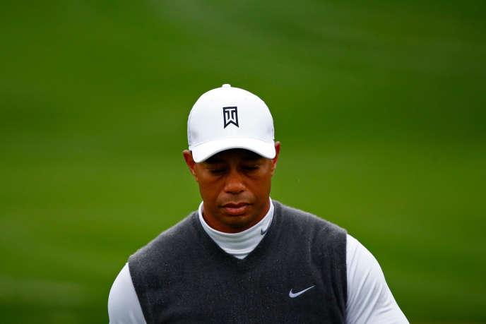 Tiger Woods, lors de l'Open de Phoenix 2015.