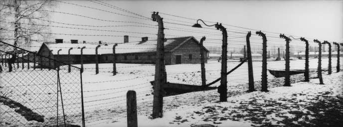 Le camp d'Auschwitz-Birkenau, en 2000.