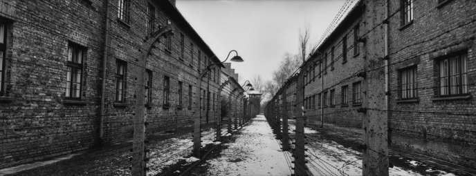 Le camps d'Auschwitz-I, en 2000.