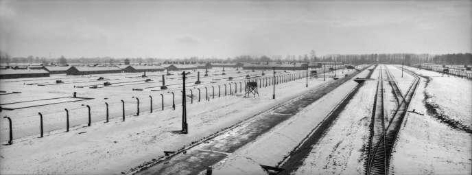 Le camps d'Auschwitz-Birkenau, en 2000.