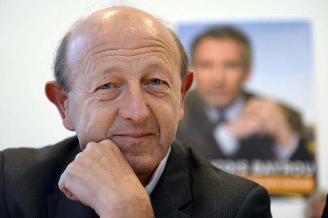 Jean-Luc Bennahmias (ancien député européen MoDem), à Marseille, le 18 novembre 2013.