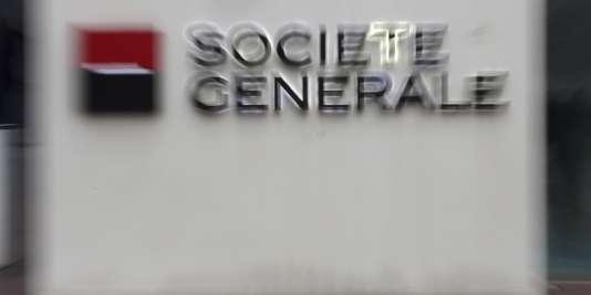 L'action Société générale perdait 11,25%, jeudi 11 février en milieu de journée.