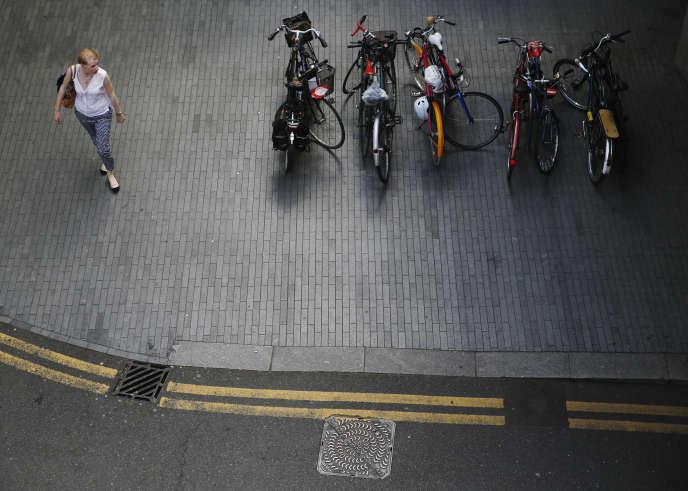Dans une rue de Londres, en juin 2014.