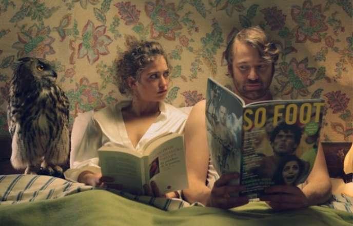 Lilou, Sophie de Fürst et Olivier Riche dans le court-métrage de David Merlin-Dufey,