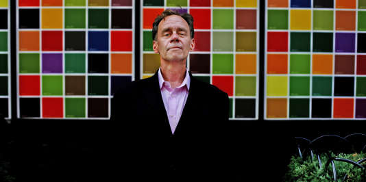 David Carr, le 11 août 2008, sur la 8e avenue à New York.