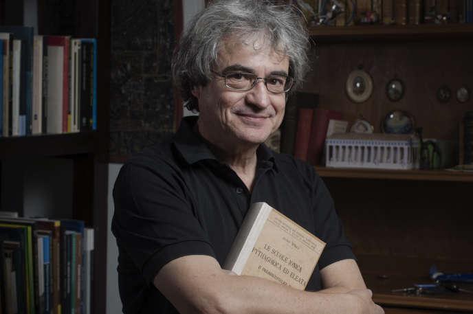 Carlo Rovelli , à Cassis, le 10 février 2015.