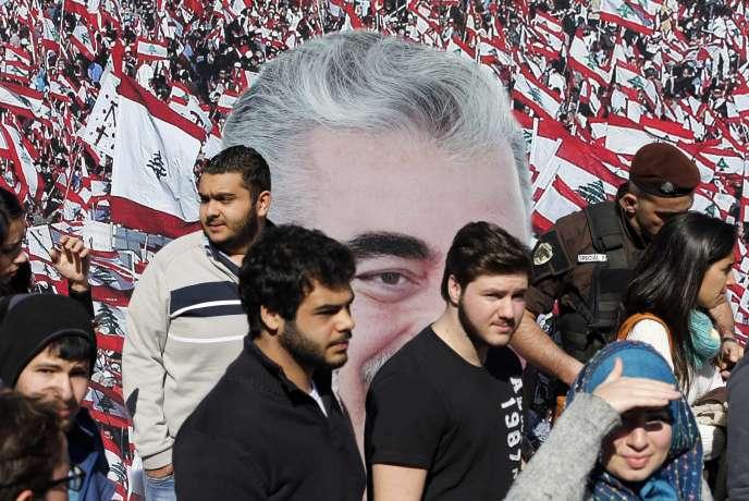 Le 14 février 2015, dix ans après l'assassinat de Rafic Hariri.