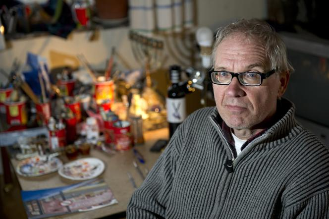 Le dessinateur suédois, Lars Vilks, en janvier 2012.