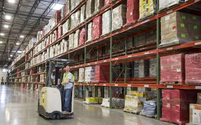 Un entrepôt d Amazon aux Etats-Unis.